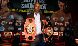 Hopkins Talks About His Legacy Ahead Of Unification Battle