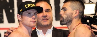 "Alvarez and Angulo to Go ""TOE TO TOE"""