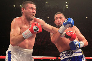 Bellew scores spectacular KO in cruiserweight debut