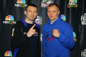Adamek And Glazkov Ready For Battle