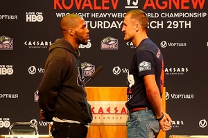 Kovalev And Agnew Go Head To Head