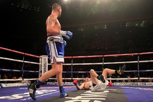 Brudov takes a tumble in Liverpool
