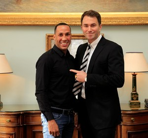 DeGale Signs With Eddie Hearn