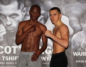 Quigg And Munyai Weigh In