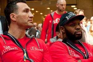 Klitschko Vs Leapai Media Work Out Quotes