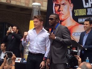 Video: Saul Alvarez and Erislandy Lara Interviews