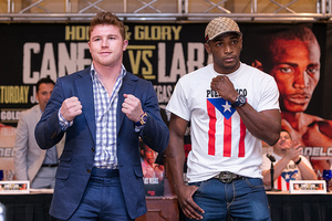 Alvarez/Lara Press Tour Concludes In Puerto Rico