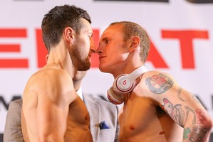 Video: froch and Groves  weigh In