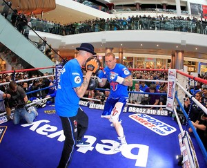 Video Exclusive: Groves Plans Left Hook Surprise For Froch