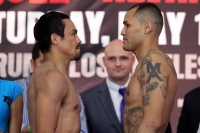 Video: Marquez Vs Alvarado Weigh In