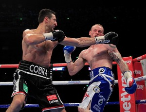 Froch lands the perfect punch