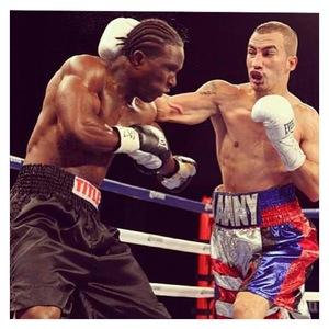 Gonzalez Battles Farmer In Boston