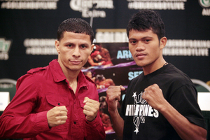 Arroyo Walks Through Saludar With Second Round KO
