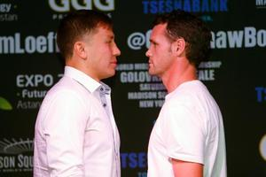 Golovkins And Geale Prepared For Battle
