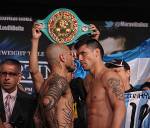 Martinez And Cotto Make Weight