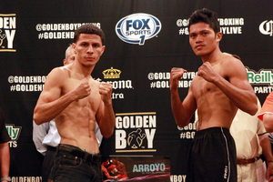 McWilliams Arroyo and Saludar Froilan Weigh In