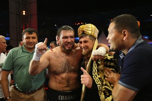 Chagaev Prepares For Title Defence