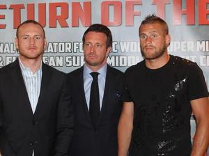 Groves faces Rebrasse (Pic Sauerland Promotions)