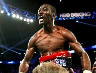 Crawford wins every round, stops Diaz