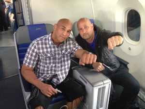 Oquendo Boards Plane To Grozny