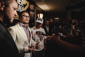 Mayweather Jr/Maidana Rematch Tour Hits New York