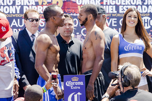 Bika And Dirrell Clash At Weigh In