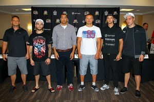 Glazkov-Rossy Final Press Conference Quotes And Pics