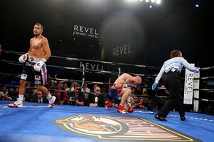 Kovalev 'Krushes' Caparello In Two