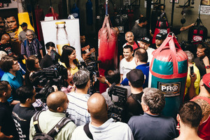 Maidana, Santa Cruz And Molina Work Out Quotes And Pics From Oxnard