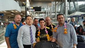 McWilliams Arrives In Thailand