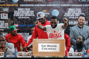 Broner Vs Taylor FInal Press conference Quotes And Pics