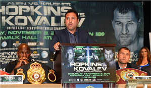 Hopkins: 'Kovalev Is A Treat To Anybody'