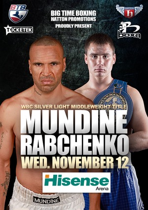 WBC Order Mundine Vs Rabchenko Rematch