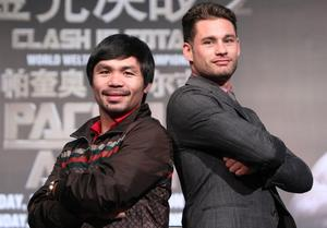 Pacquiao, Roach And Arum Talk About Chris Algieri