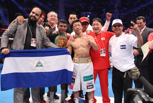 Gonzalez Claims Third Division Title;Inoue Defends