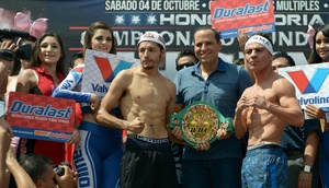 Gonzalez And Arce Make Weight
