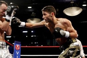 Taylor Targets Top UK Junior Welters