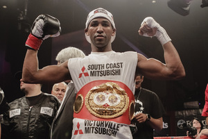 Barthelemy claims Vacant IBF Crown