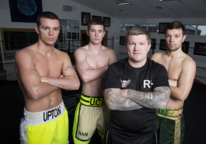 Upton Brothers Expect Plenty Of Support Saturday Night
