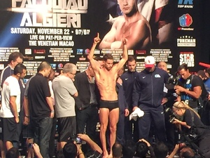 Video: Nutrition Expert Algieri Makes Weight At Third Attempt