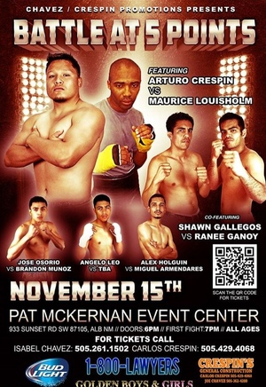 Chavez/Crespin Fight Card Announced