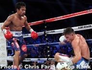 Pacquiao floors Algieri six times, wins bout by unanimous decision