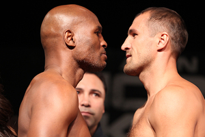 Video: Hopkins And Kovalev Make Weight