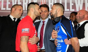 Video: Weigh In From Liverpool, Cleverly Vs Bellew
