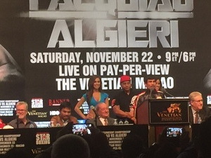 Video: Pacquiao Vs Algieri Post Fight Press Conference