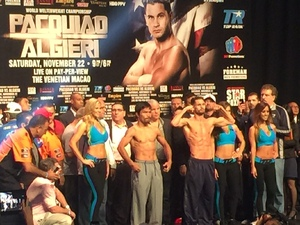 Algieri and New York invade Macao