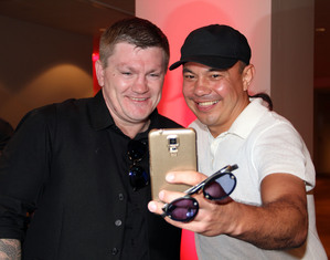Hatton And Tszyu Reunited