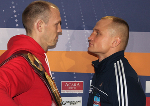 Braehmer Vs Glazewski Heats Up At Press Conference