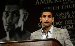 Khan Believes Mayweather Jr Wants Him To Look Bad Against Algieri