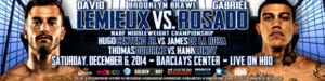 Lemieux Vs Rosado Training Camp Notes